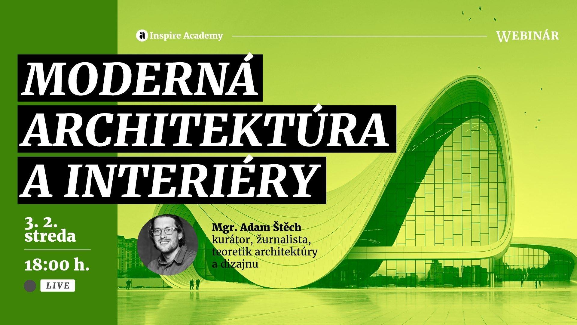 Moderná architektúra a interiéry