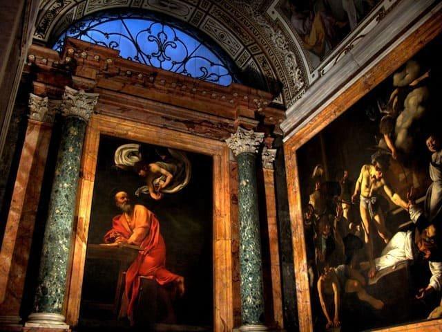 The masterpieces of Caravaggio ONLINE