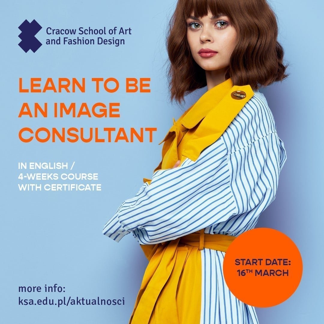 "ONLINE COURSE WITH CERTIFICATE ""Learn to be an image consultant"""