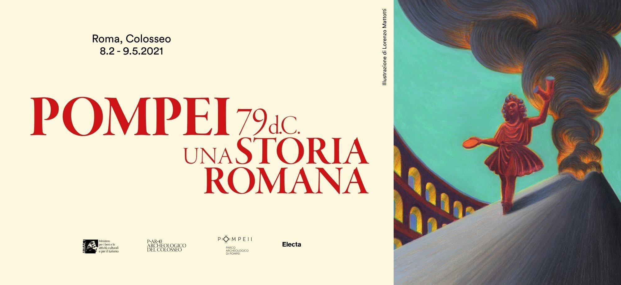 Pompeii & Roman History Colosseum Exhibition