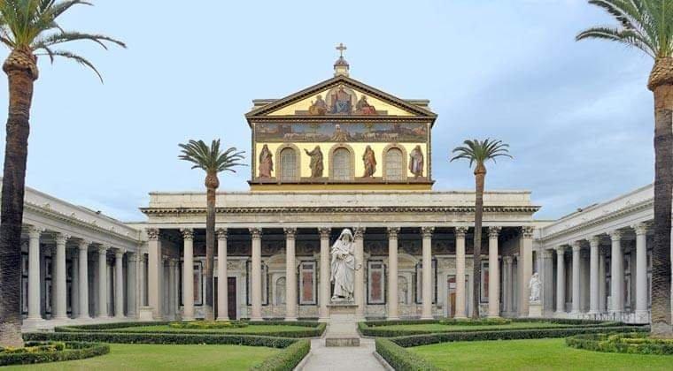 Visit the Basilica di San Paolo Fuori le Mura