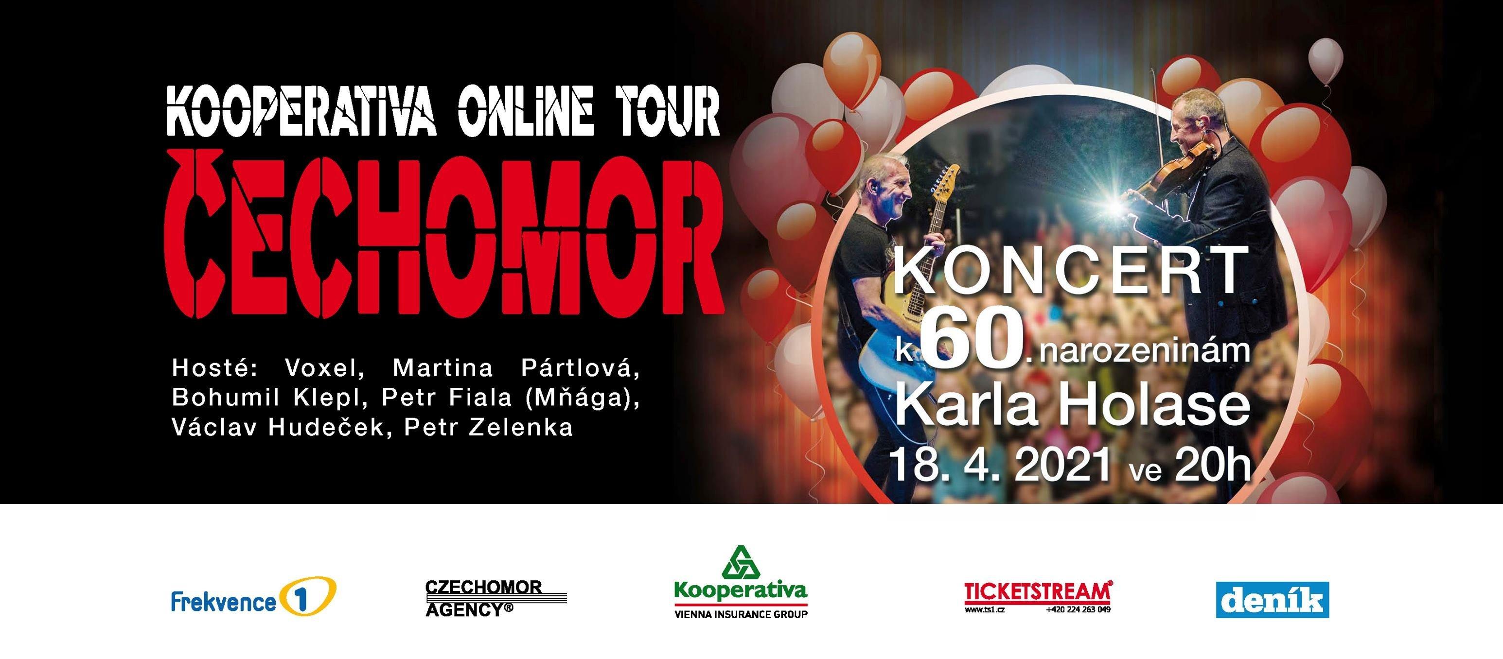 Čechomor Online Concert