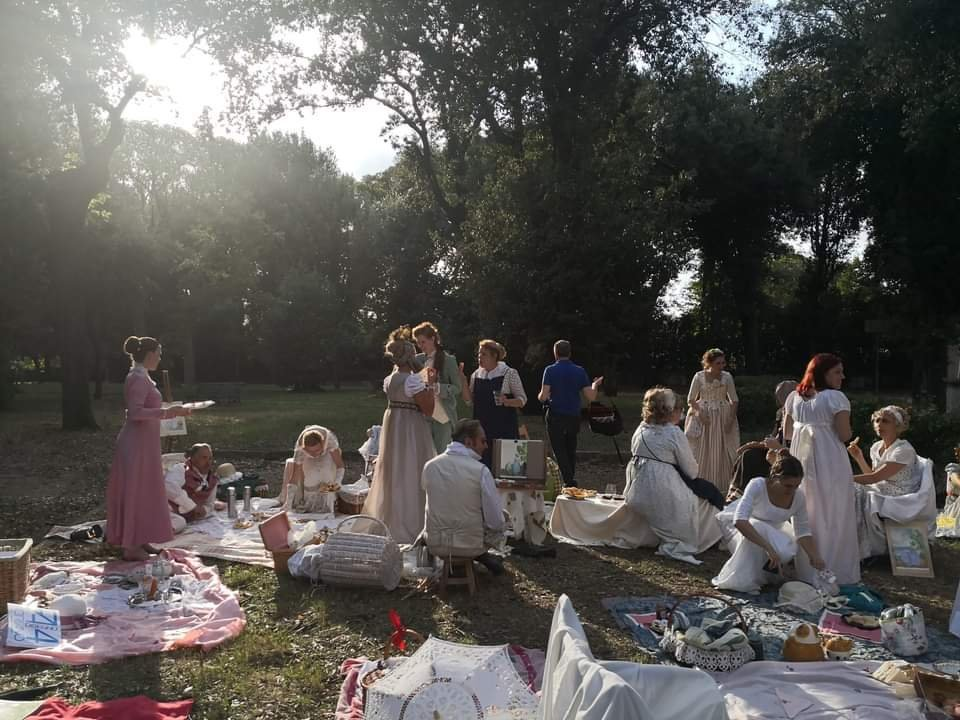 Picnic with Jane Austen in Rome
