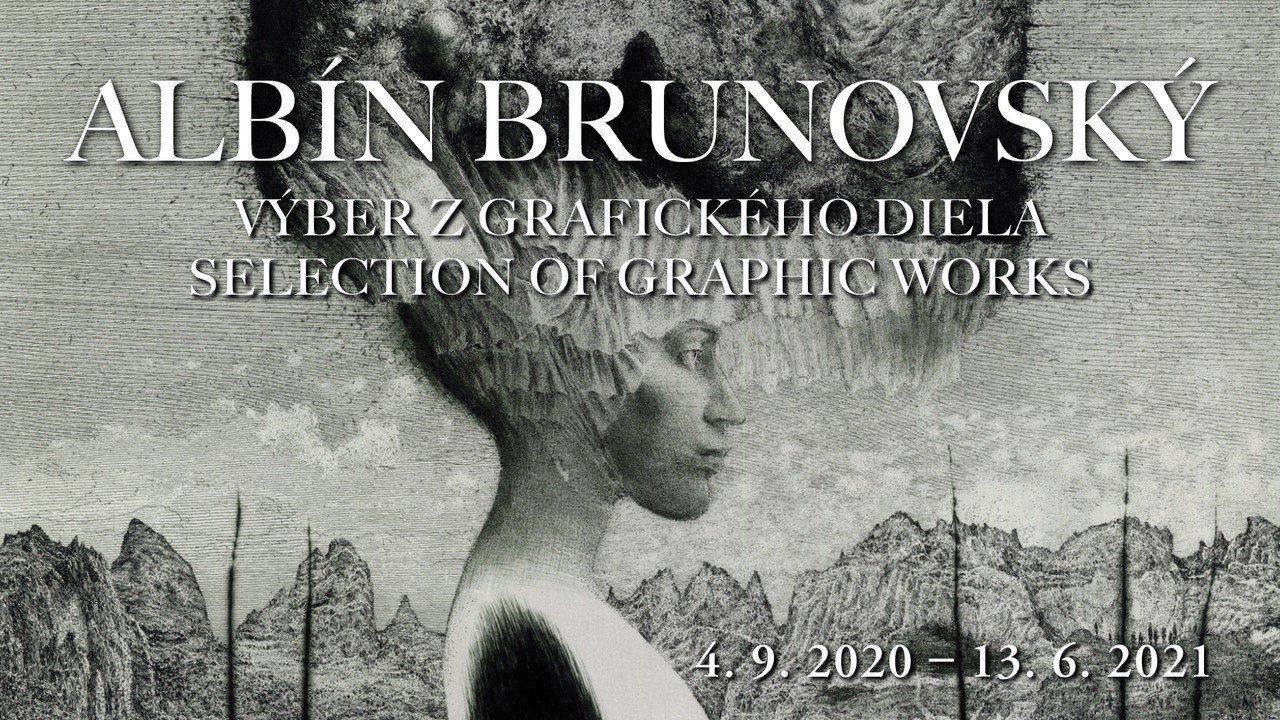 Albín Brunovský exhibition