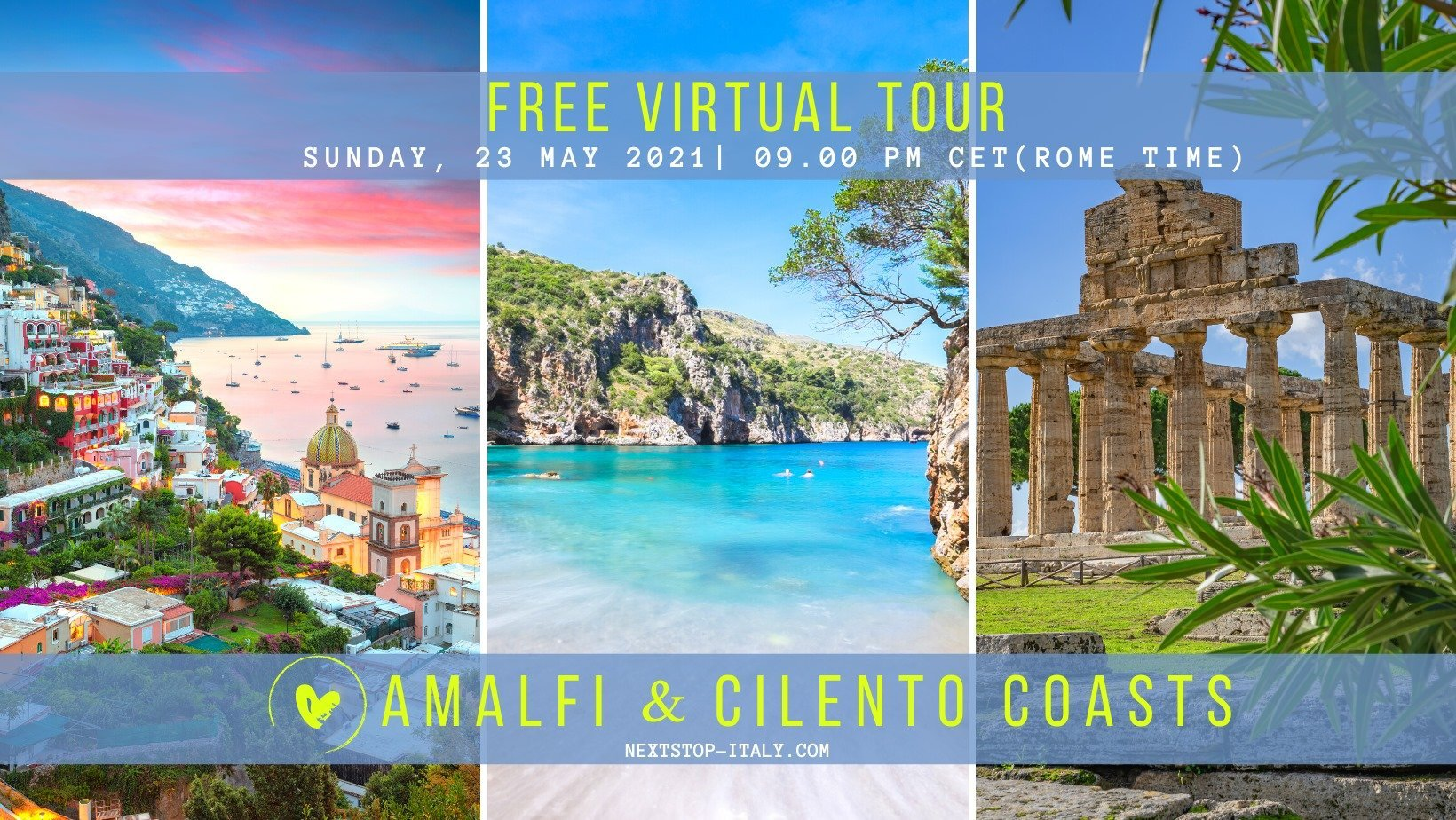 AMALFI & CILENTO COASTS TOUR