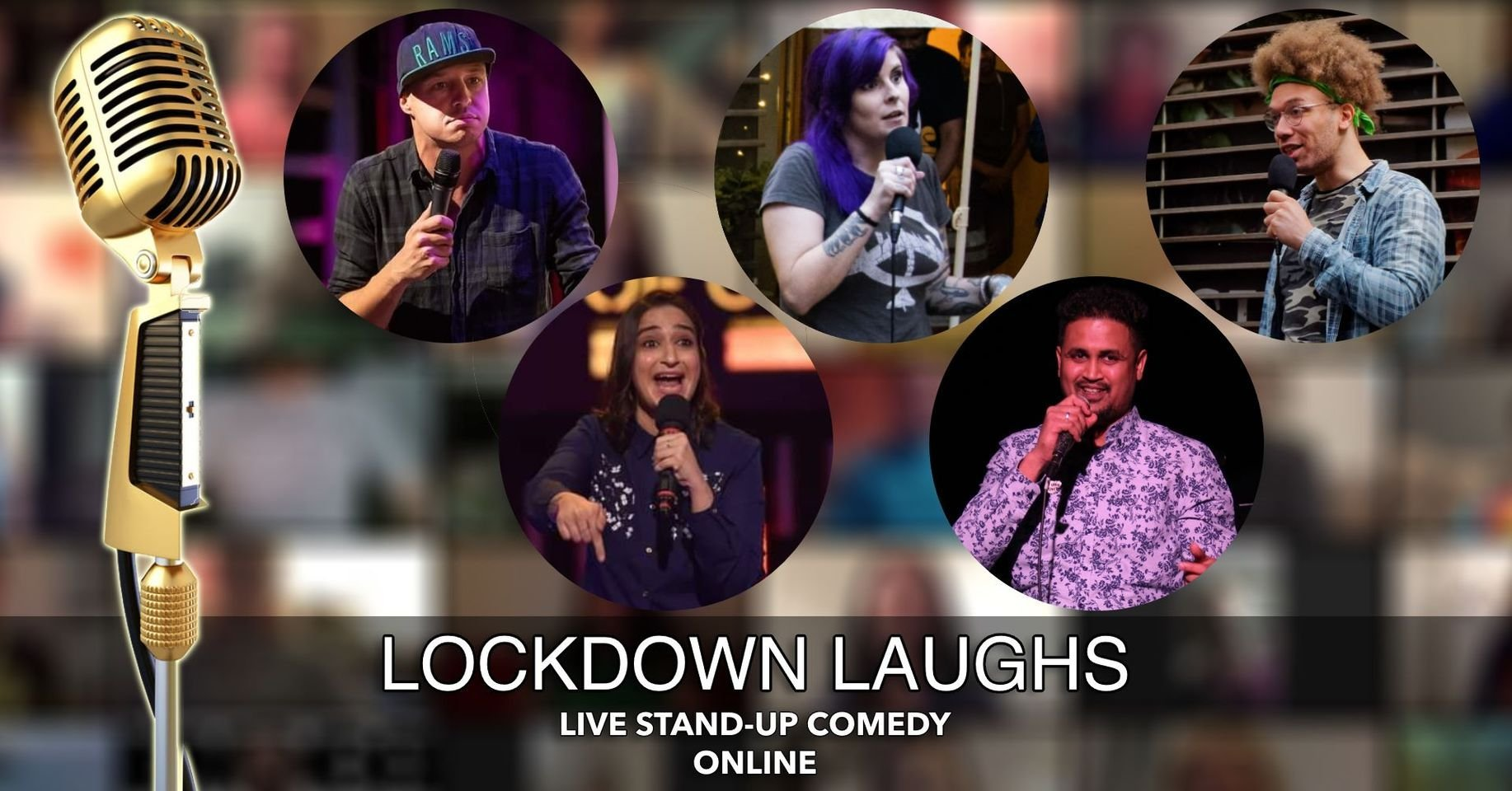 Lockdown Laughs - Live English Stand Up