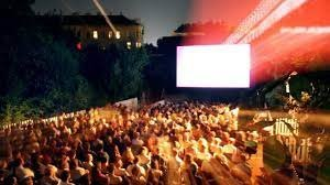 Open Air Cinema in Augarten