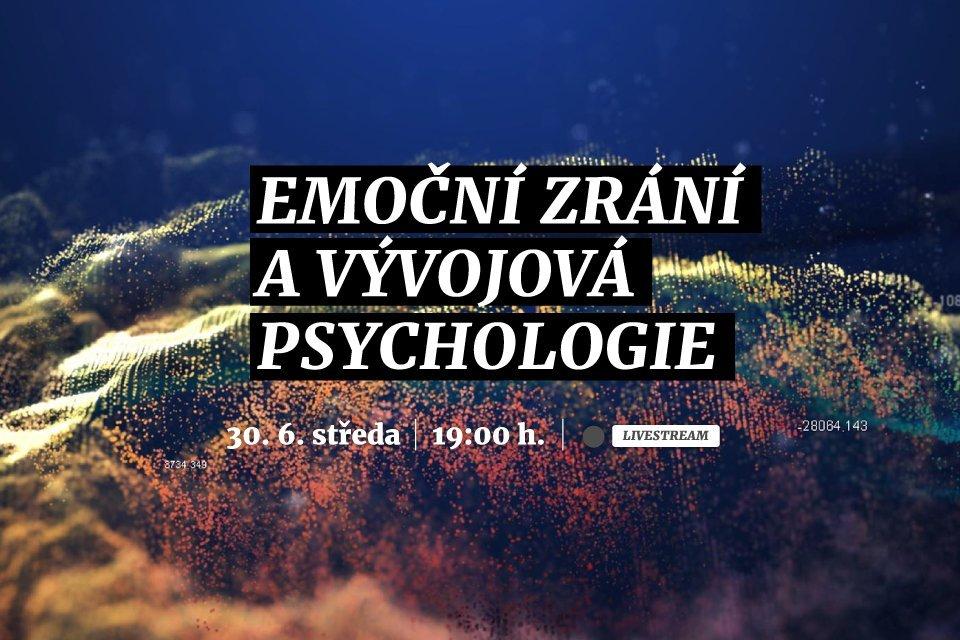 Emoční zrání a vývojová psychologie | Webinář
