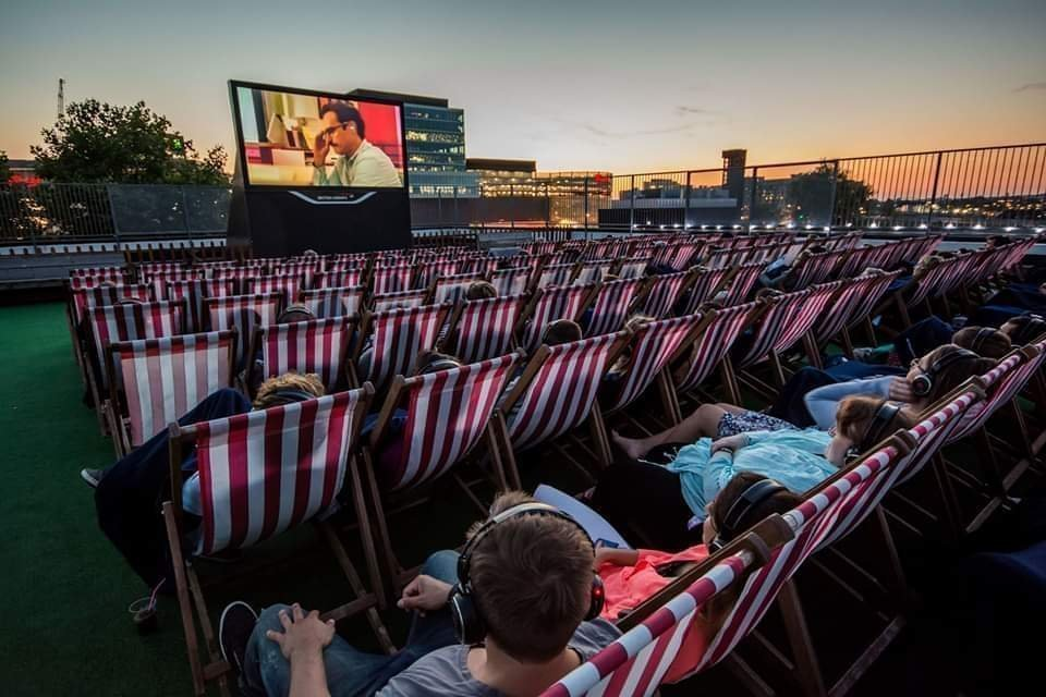 Movie Night Rooftop Festival