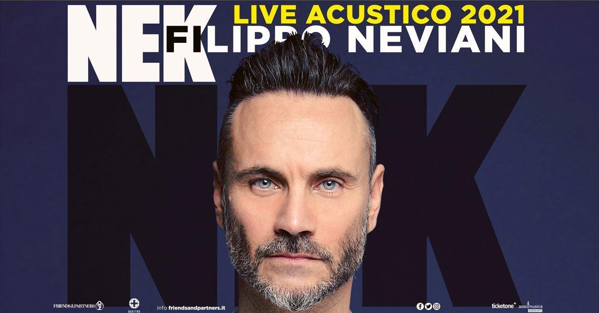 Nek in concert in Rome