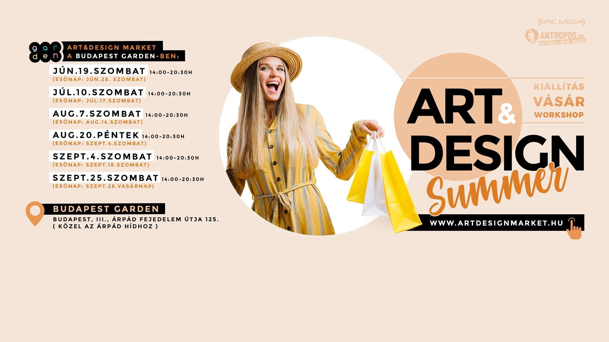 Art & Design summer market