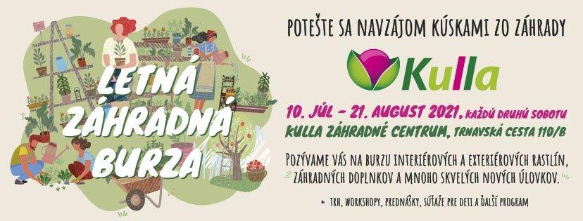 Summer garden market