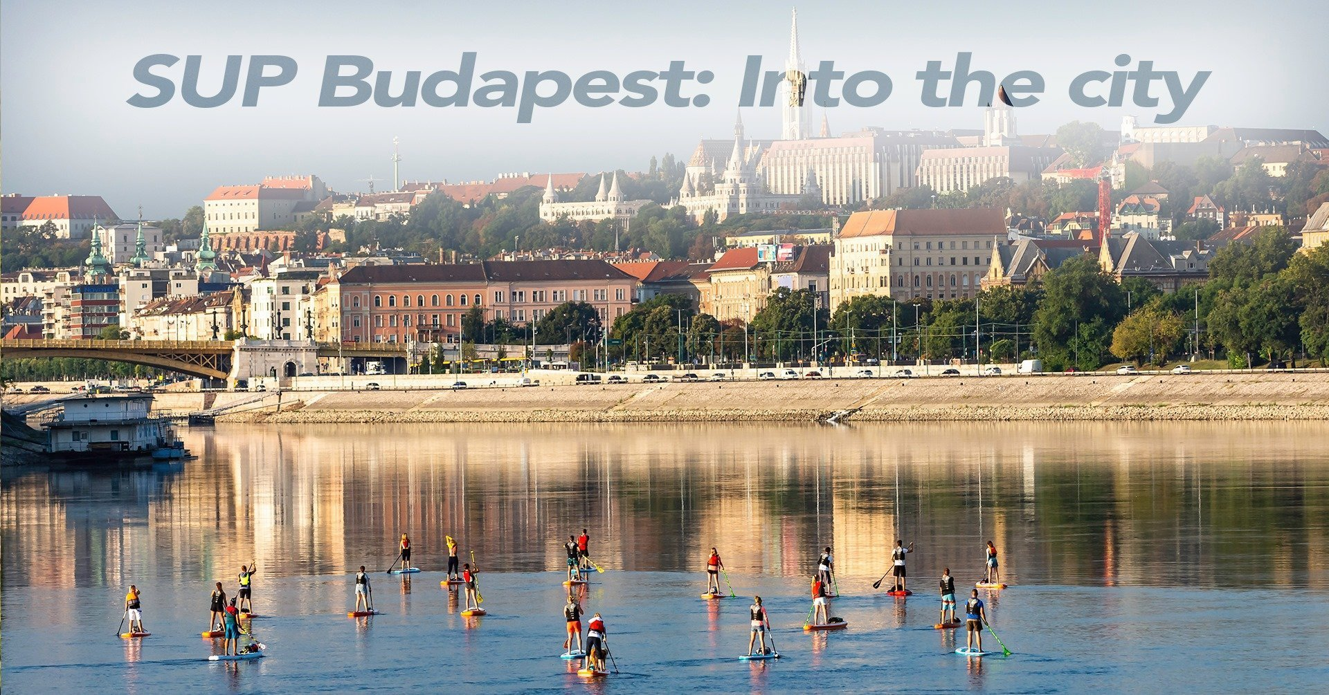 Sunset SUP tour in Budapest