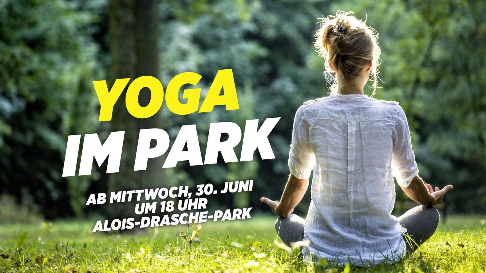 Yoga im Park Vienna