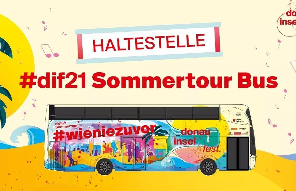 Donauinselfest Tour Bus 2021
