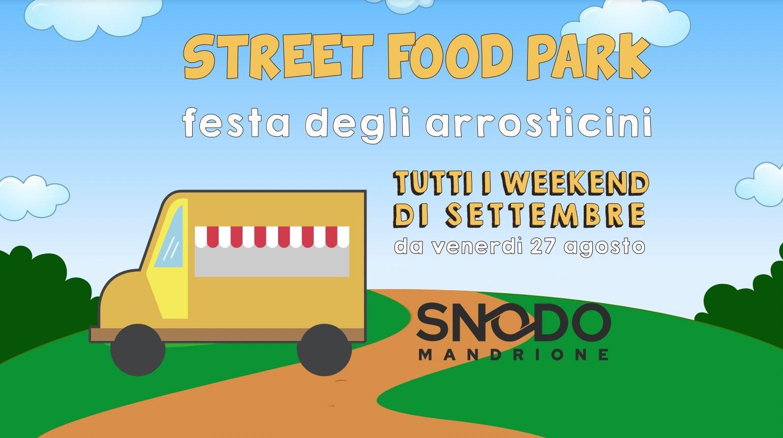 Street Food Park in Rome