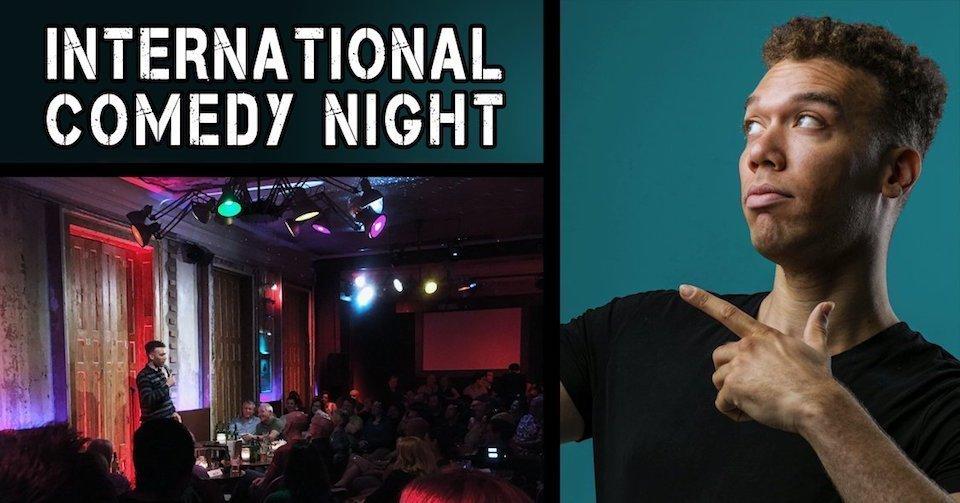 International English Comedy Night