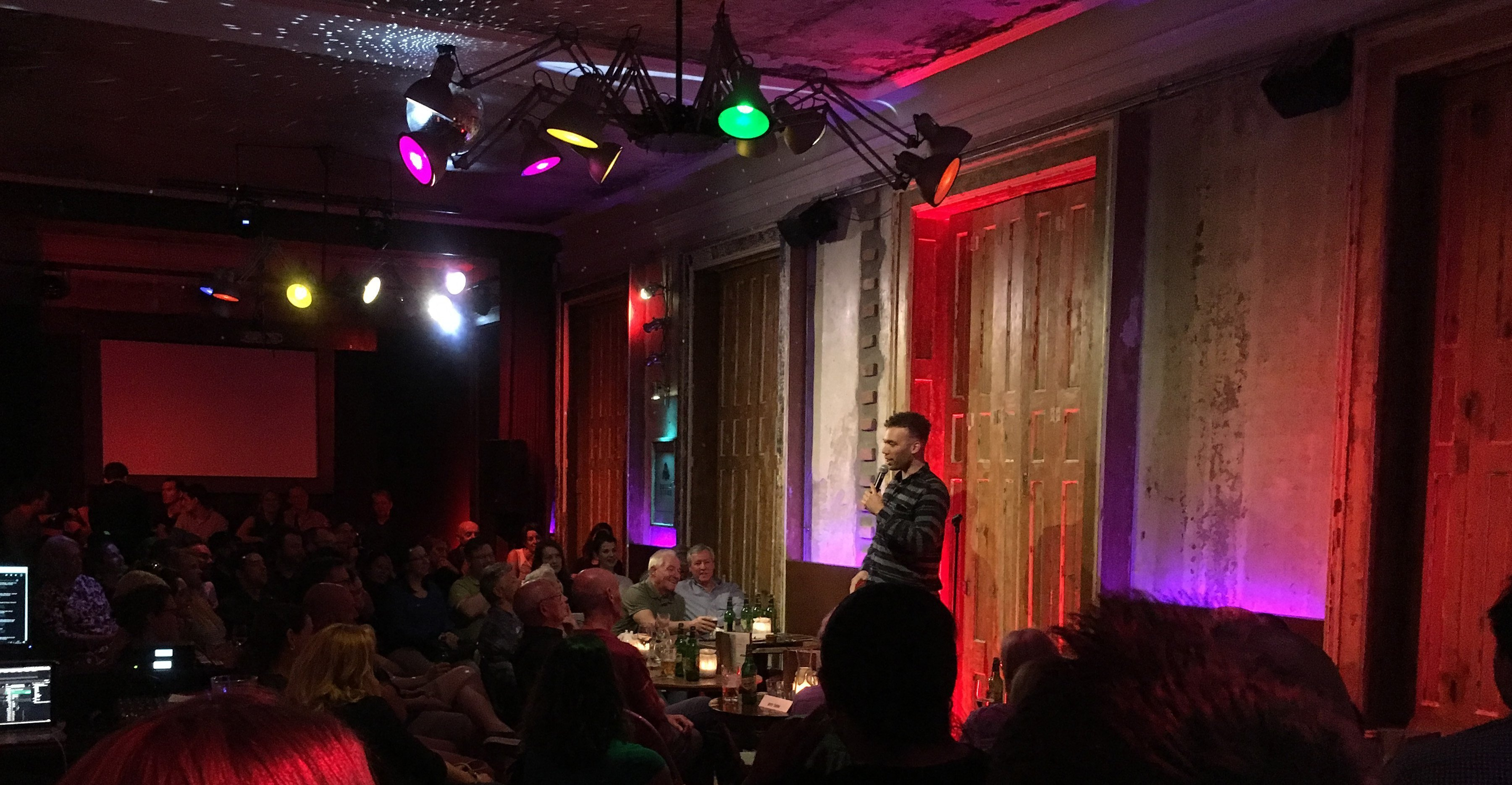English Stand-up Comedy Open Mic