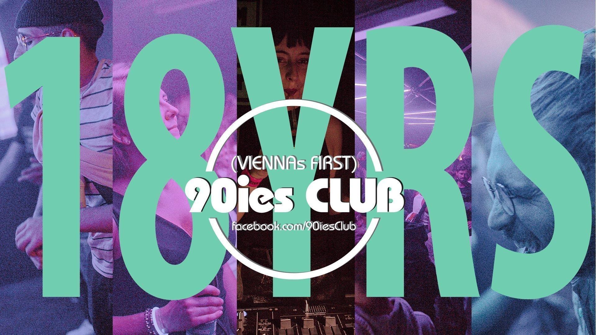 18 years of 90ies club