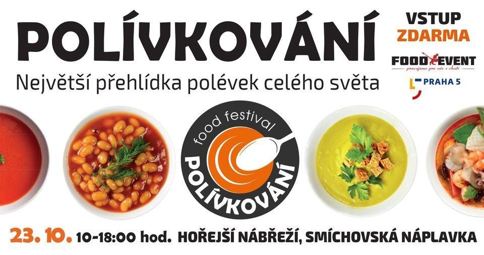 Polívkování Soup Festival in Prague