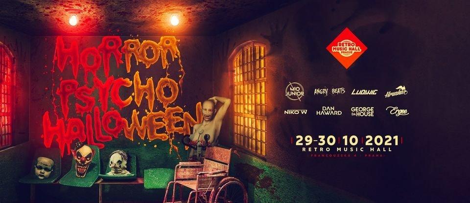 Horror Psycho Halloween Party