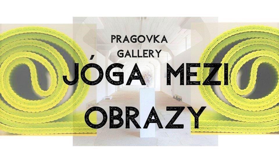 Yoga Exercises among Paintings